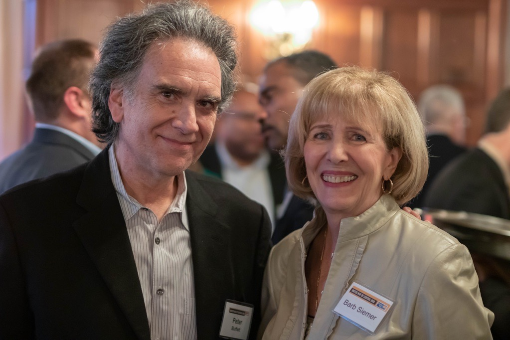 Peter Buffett Reception